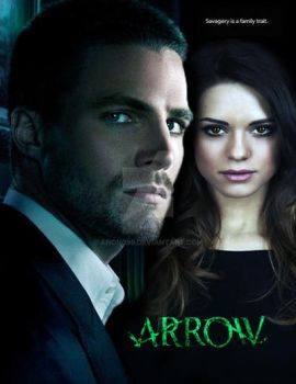 Arrow Fanart 2 by Anon099