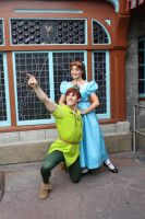 Peter Pan and Wendy by forestofthorns