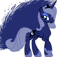Princess Luna by anon3mau5