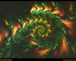 Emerald Flame by Alterren