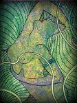 naked girl in the jungle by santosam81