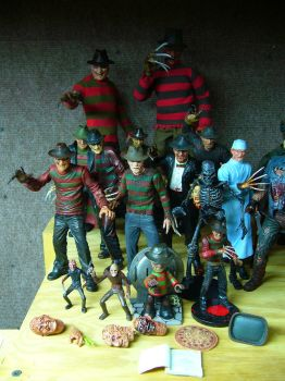 Freddy Figure Collection by Police-Box-Traveler