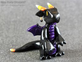 Candy Corn Dragon by HowManyDragons