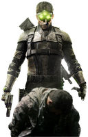 Splinter Cell BLACKLIST - Sam Fisher RENDER 2 by Crussong