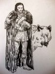 Jon Snow2 by IgorChakal