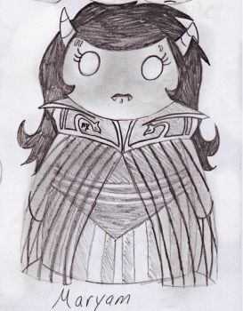 Doll named Maryam by DemonKing113
