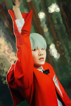 The Most Beautiful Moment In Life - Suga by Alelu-chan
