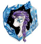 Rarity - Frozen by WitchBehindTheBush