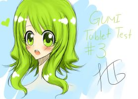 GUMI Tablet Test by HikariTenjou