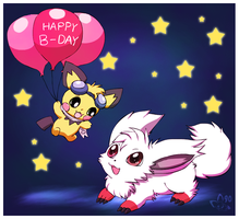 Happy Birthday BatLadie by pichu90