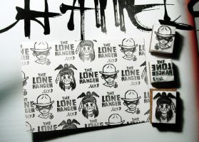 2013-03-26 the Lone Ranger Stamps by amoykid