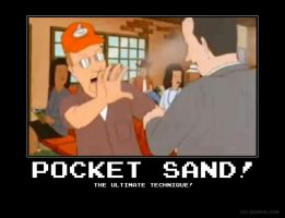Pocket Sand Demotivational by NeoMetalSonic91
