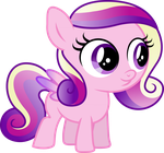 Cadance the Filly by TheShadowStone