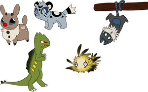 More Fakemon by Nixhil