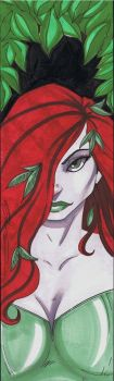 5x17 Poison Ivy by Hodges-Art