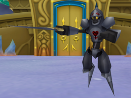 MMD NC - Armored Knight Heartless by Zeltrax987