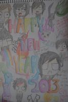 Happy 2013 ! by gavanah