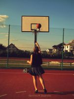 basketball pleasure by MrsMContrail