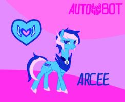TransFormers Pony-Arcee by Autumn123Charlotte