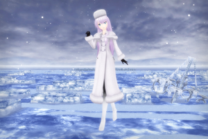{MMD} Updated PDF 2nd Eternal White Luka {DL} by HarukaSakurai