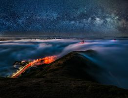 San Francisco, unseen night by alierturk