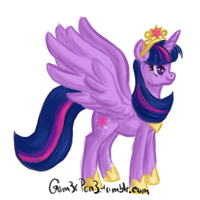 Princess Twilight Sparkle by RhythmGeneration