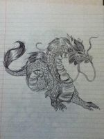 Chinese dragon by v-is-a-beast
