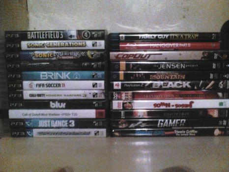 My games and movies. by CureCrysisAlex