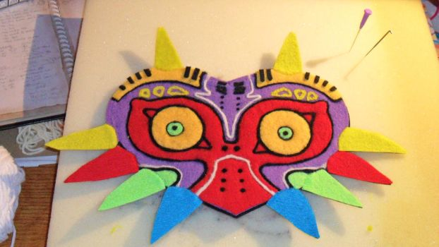 Majora's mask by Tia-tony