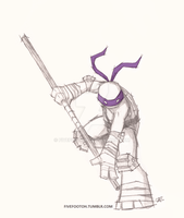 Lines: Donatello by fivefootoh