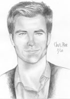 Chris Pine by artemiscrow