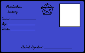 Phantomhive Academy ID card by Homestuck-Gurl