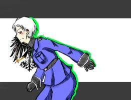 It is the Awesome me! Prussia! by SoruMegane13
