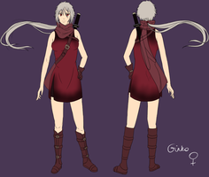 Ginko - reference sheet by Shinjuuki