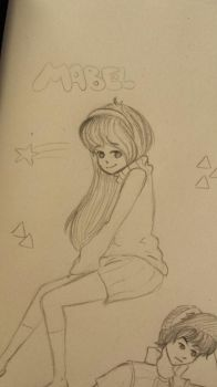 Mabel Sketch by SweetPosion-Chan