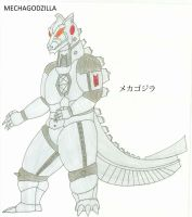 G Reborn MECHAGODZILLA by KingShisa08