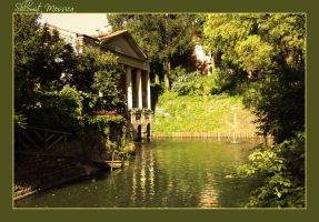 A garden in Padua by ShlomitMessica