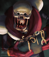 Horrortale - Papyrus by Zinrius