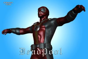 DEADPOOL for Poser WIP by TargetView
