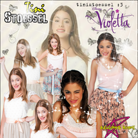 Violetta Martina Stoessel Blend by AvrileraLBS