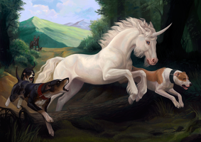 Hunt for the Unicorn by Atenebris