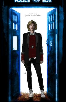 13th Doctor by tsbranch