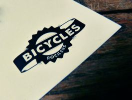 BICYCLES ROCKERS LOGO by Couscous78