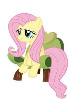 Fluttershy's Pooped by Gratlofatic
