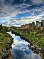 podgorica after rain by psdlights