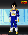 Vegeta Damage SCTCH by Seiya-Dbz-Fan