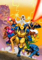 X-MEN Animated Vol.1 Box Art by DNA-1