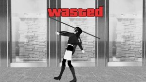 [MMD] Wasted. GG by Harmxny