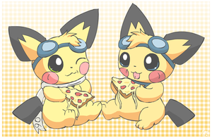 Pizza Chus by pichu90