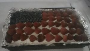 4th of july Us flag cake something something by jodisamma